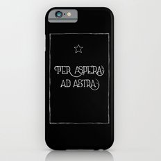 Per Aspera Ad Astra (black) iPhone 6s Slim Case