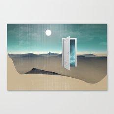 door to a void Canvas Print