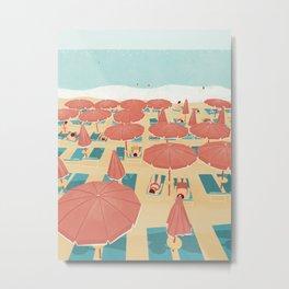 summer in cinque terre Metal Print