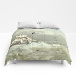 Breaking Waves Comforters