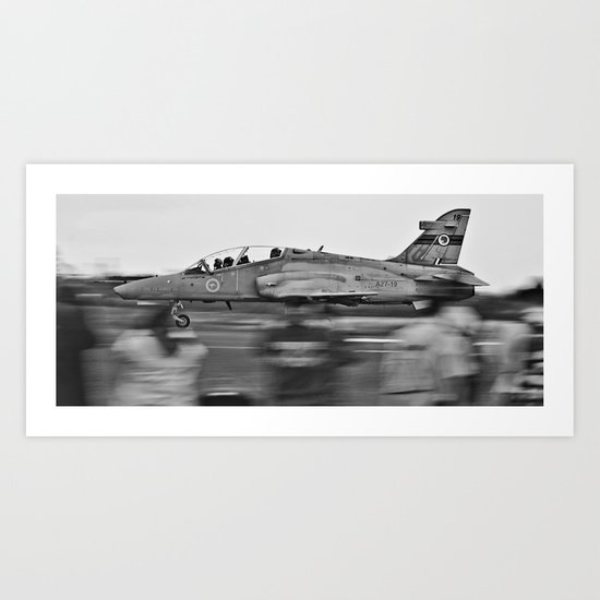 Coming Into Land Art Print