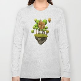 New City in the Sky Long Sleeve T-shirt