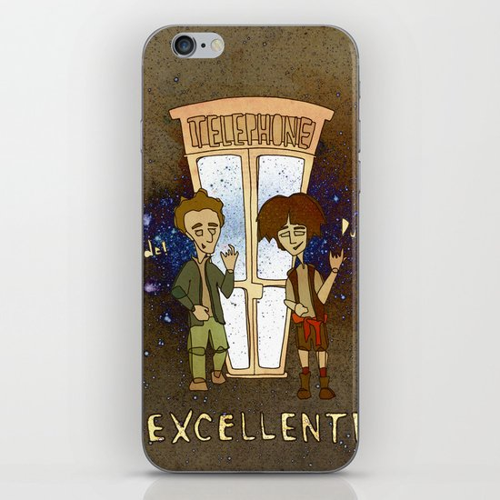 Bill & Ted's Excellent Adventure (1989) iPhone & iPod Skin