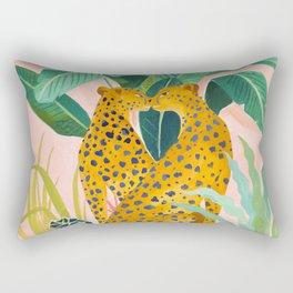Cheetah Crush Rectangular Pillow