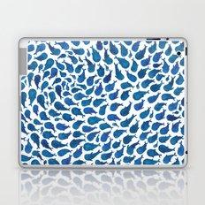 Blue Whales Laptop & iPad Skin