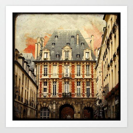 Place des Vosges - Paris Art Print