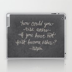 Nietzsche on Rising Anew Laptop & iPad Skin