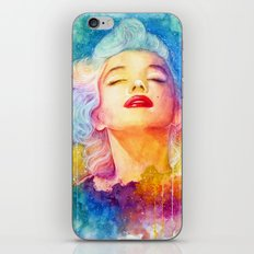 I paint my own world iPhone & iPod Skin