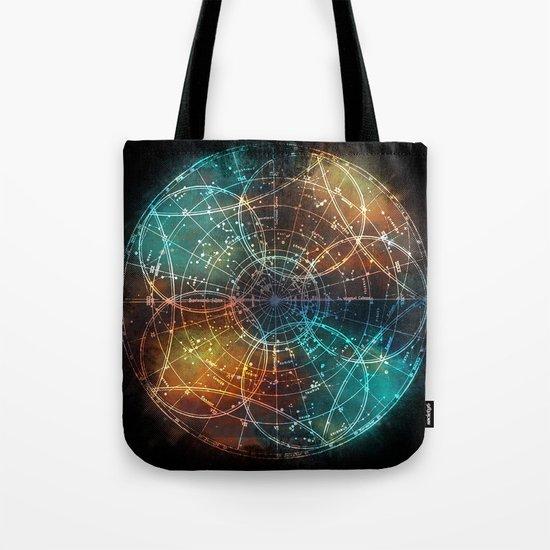 Star Map Tote Bag