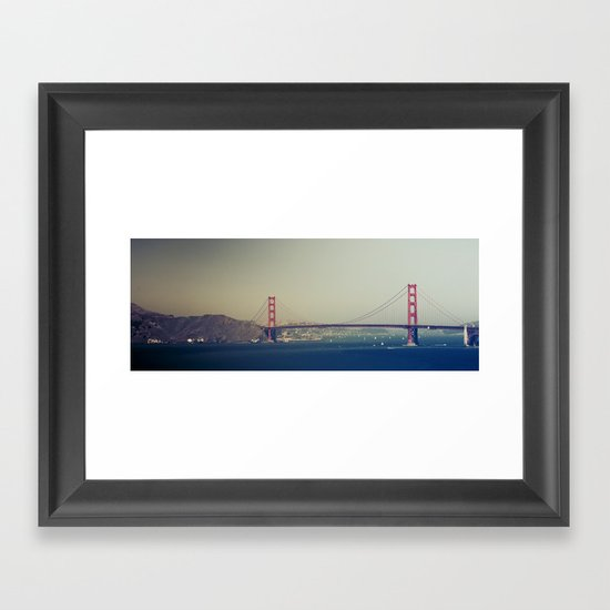 Golden Gate Bridge II Framed Art Print