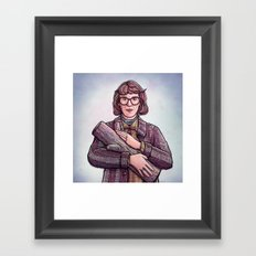 Log Lady Framed Art Print