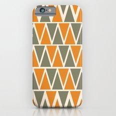 Green And Orange Triangles  iPhone 6s Slim Case