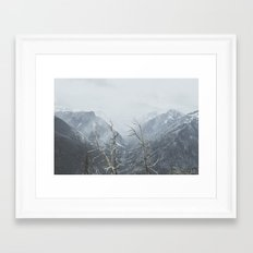North Cascades Framed Art Print