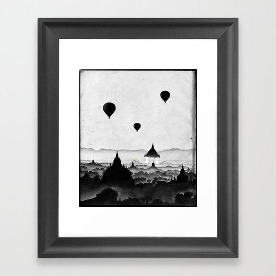 Aurora (On Paper) Framed Art Print
