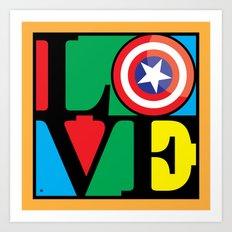 Love America Art Print