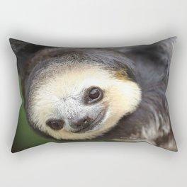 Three-toed sloth at Green Heritage Fund Suriname Rectangular Pillow