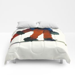 Ready to Ride! - Snowboarder Comforters