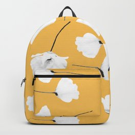 Poppies on mustard Backpack