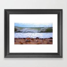 {Tidal} Framed Art Print