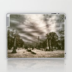 Mt.Olivet Cemetery / Nashville, Tn. / Infrared Edit  Laptop & iPad Skin