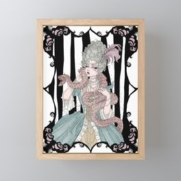 Madame Boa Framed Mini Art Print
