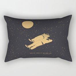 Tomar luna Rectangular Pillow