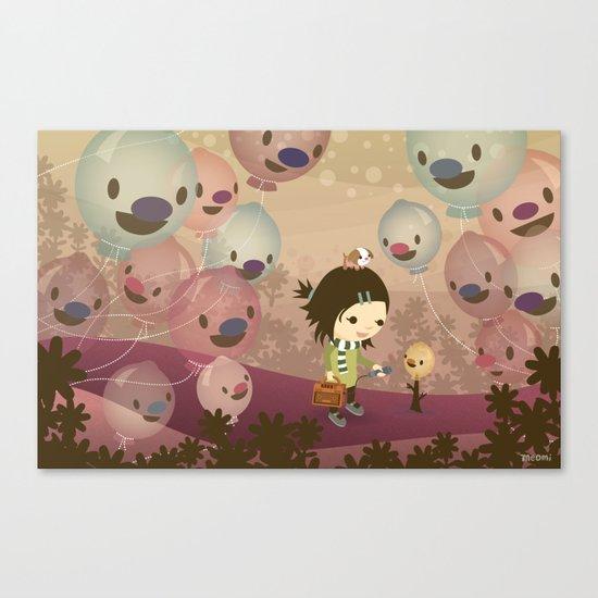 Balloon Tree Song Canvas Print