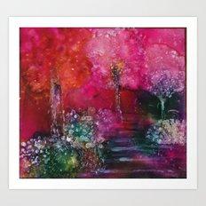 Path  of Glory Painting Art Print