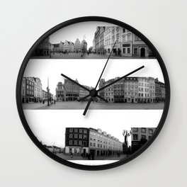 Wroclaw - The Market Square Wall Clock