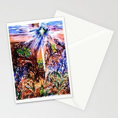 Risen in Love Easter Cross Stationery Cards