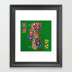 Mana Kids Framed Art Print