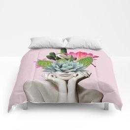 Cactus Lady Comforters