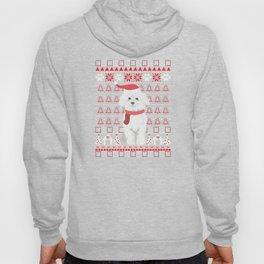 Bichon Frise Ugly Christmas Sweater Holiday Dog T-Shirt Hoody