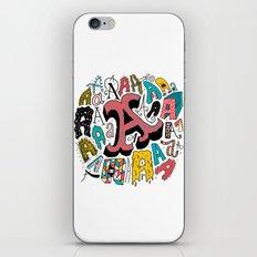 A's iPhone & iPod Skin