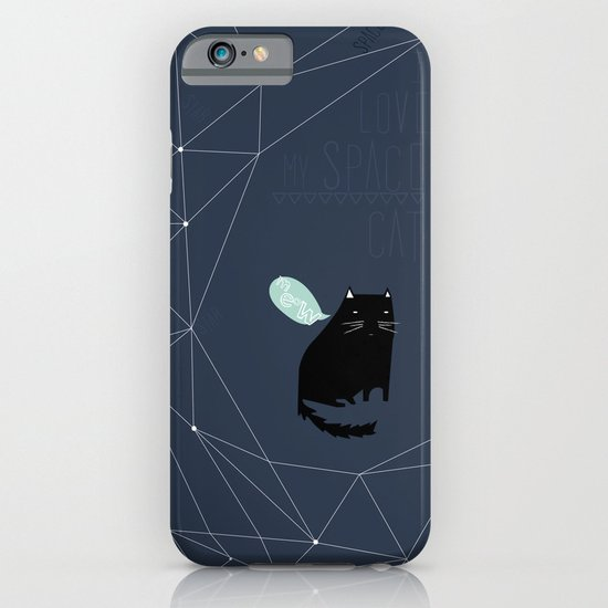 my_spacecat iPhone & iPod Case