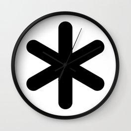 X Y Z Wall Clock