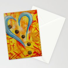 Spaghetti and Meatballs a Love Story Stationery Cards