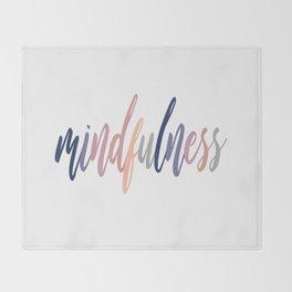 Mindfulness Throw Blanket