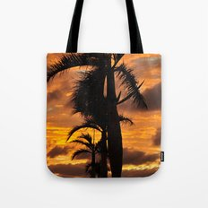 Super Typhoon Sunset Tote Bag