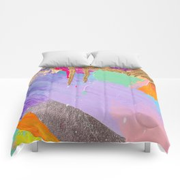 Contemporary abstract painting Comforters