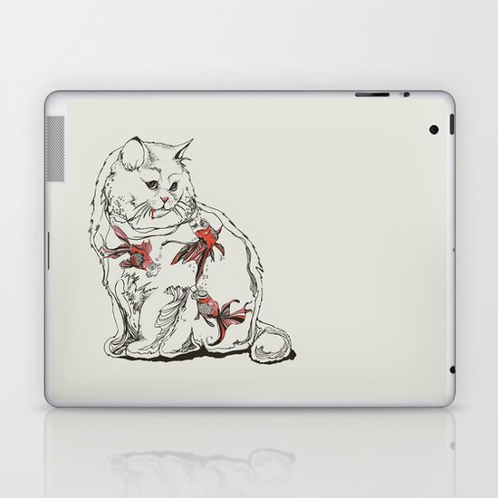 Fish Tank Laptop & iPad Skin