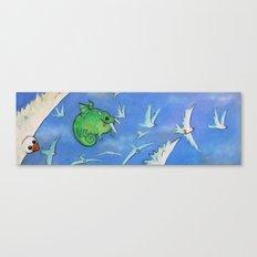 GOBBLE GOBBLE Canvas Print