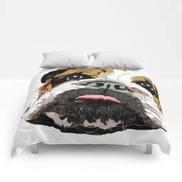 English Bulldog Comforters