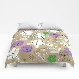 In My Garden Comforters