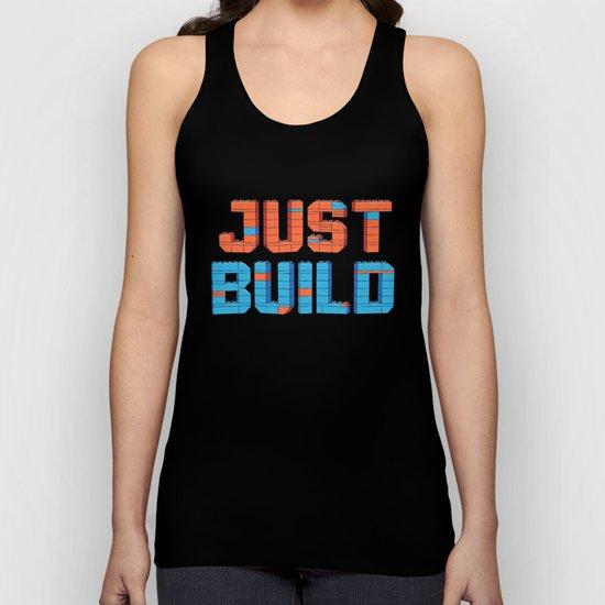Just Build Unisex Tank Top