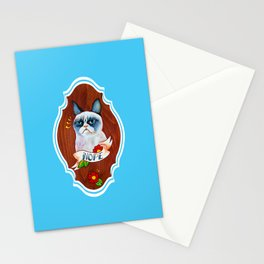 Feline Denial Stationery Cards