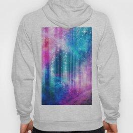 magical nebula forest Hoody