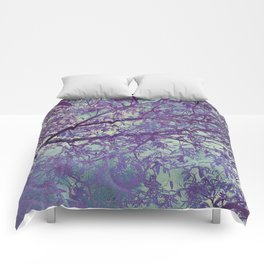 forest 2 #forest #tree Comforters