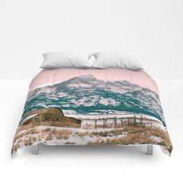 Grand Tetons Barn Comforters