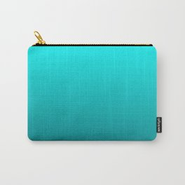 Petrol turquoise graphic pattern Carry-All Pouch